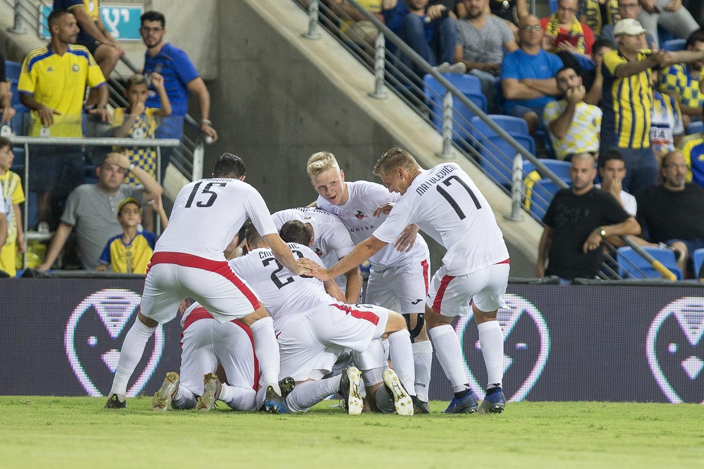 """Europos lygos atranka: """"Sūduvos"""" futbolininkai iškovojo svarbią pergalę Izraelyje"""
