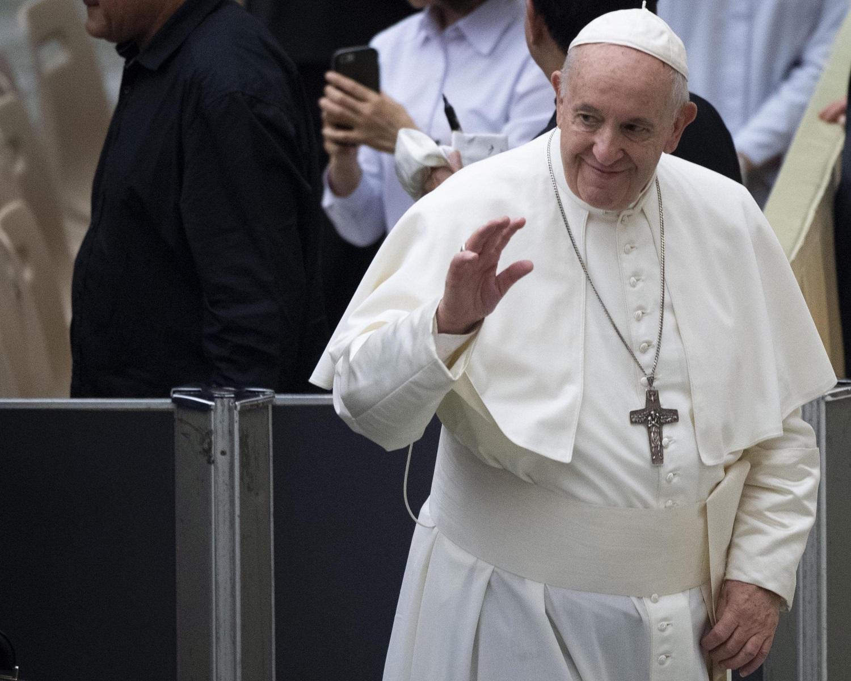 """Popiežius: """"Kai kurių Europos politikų kalbos primena A.Hitlerį"""""""