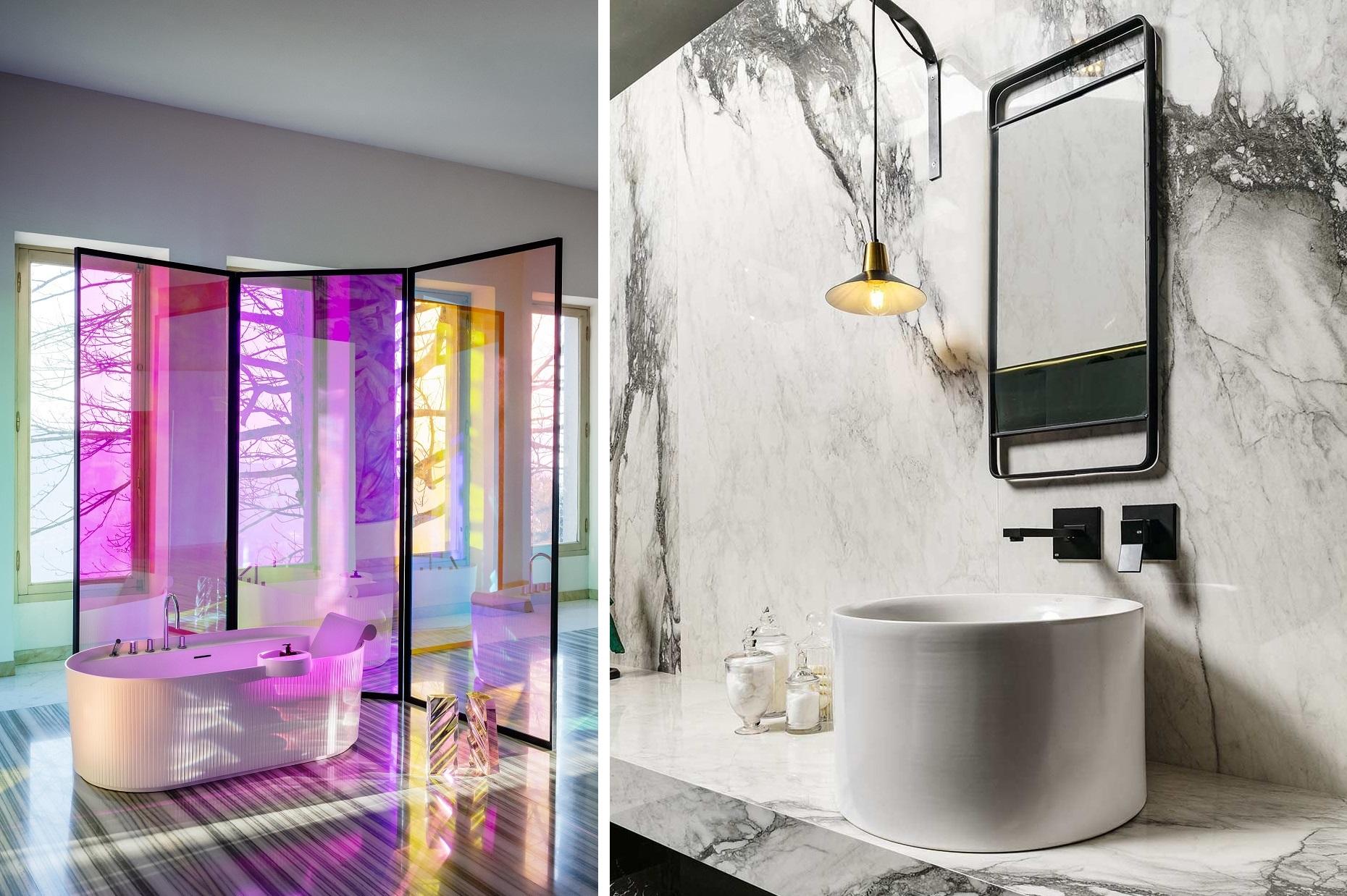 Šiuolaikinė vonia: 5 svarbiausios taisyklės