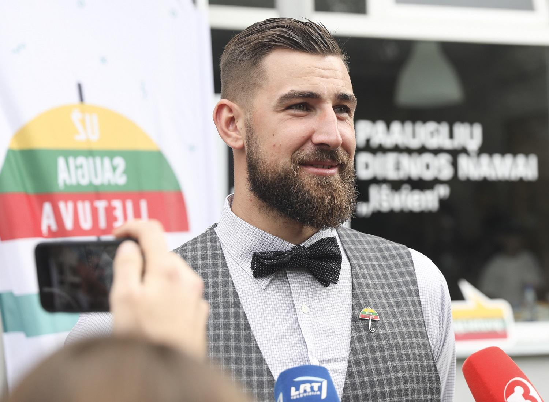 Kaune krepšinio sirgaliai turės vienintelę progą išvysti J.Valančiūną ir D.Sabonį rungtyniaujančius kartu