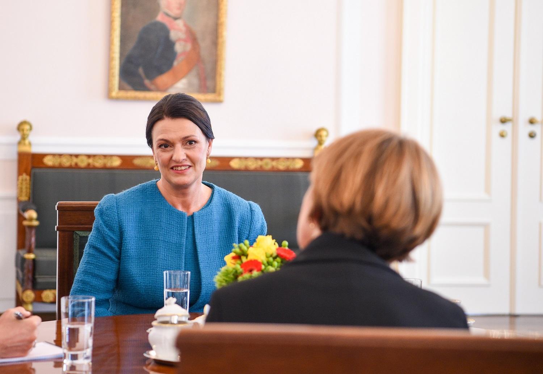 Vokietijos ir Lietuvos pirmosios ponios aptarė socialinės atskirties mažinimo projektus