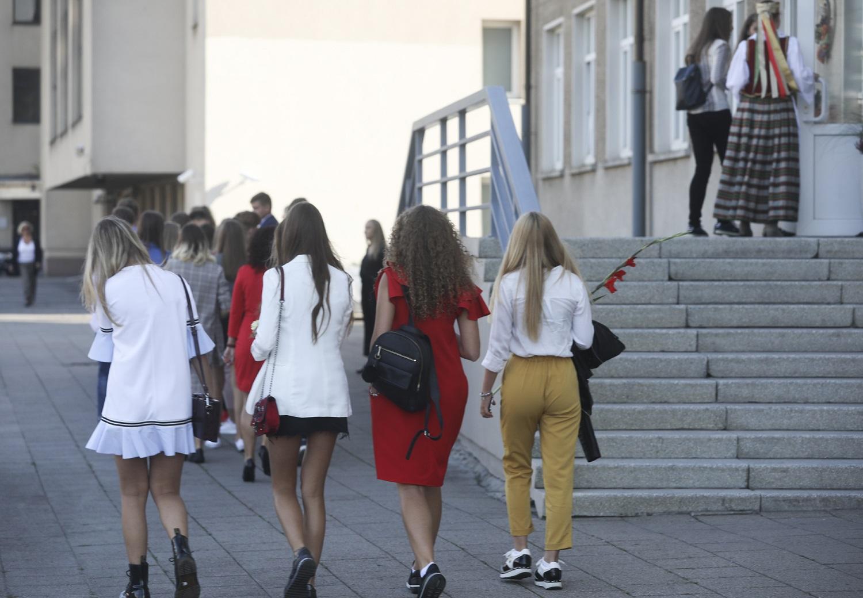 Rugsėjį mokyklų duris pravers panašus skaičius mokinių kaip pernai