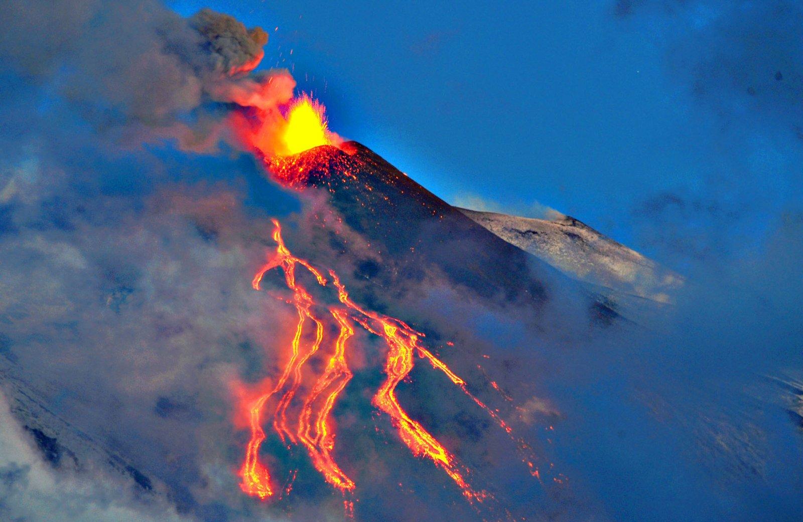 Pražūtingiausi ugnikalnių išsiveržimai