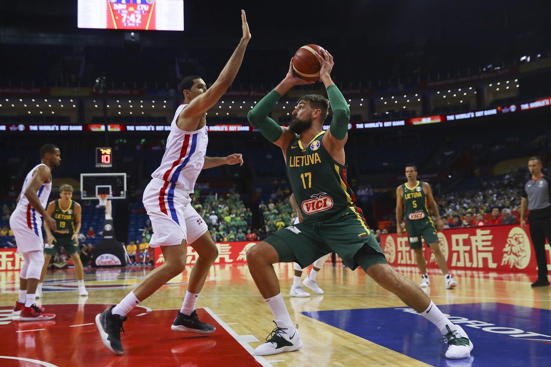 Lietuvos rinktinė pasirodymą pasaulio čempionate Kinijoje užbaigė užtikrinta pergale