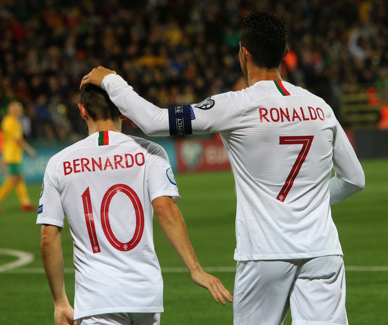 """Keturis įvarčius Lietuvoje pelnęs C.Ronaldo: """"Svarbiausia buvo pasiekti pergalę"""""""