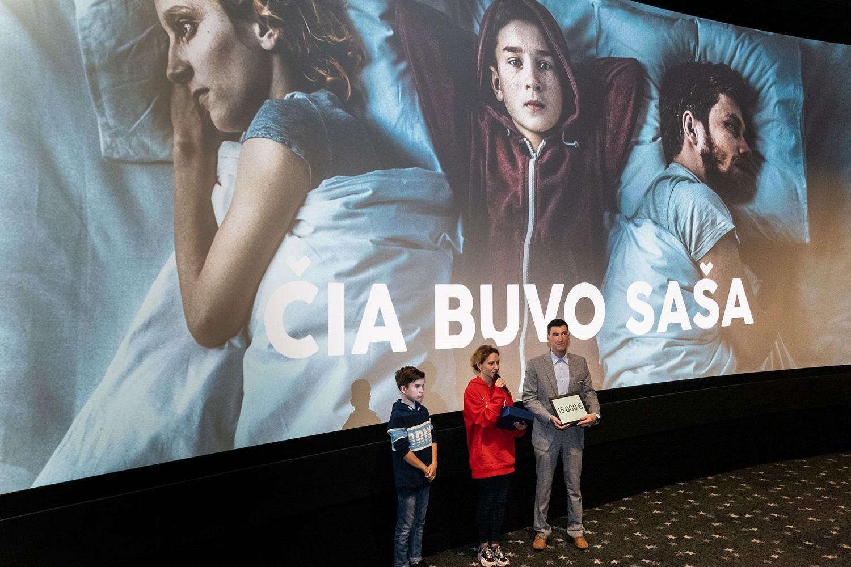 Pirmą kartą lietuviškas filmas apdovanotas už gerumą