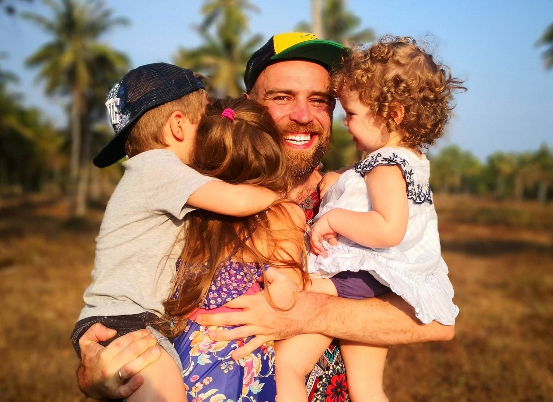 Trijų vaikų tėtis S.Urbonas - apie didžiausius iššūkius auginant vaikus