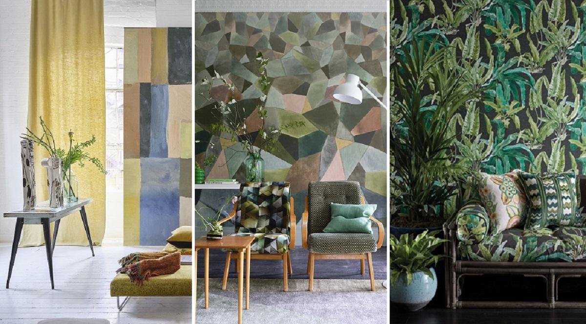 Šių metų rudens interjero tendencijos: nuo meniškos geometrijos iki plaukiančių laivų