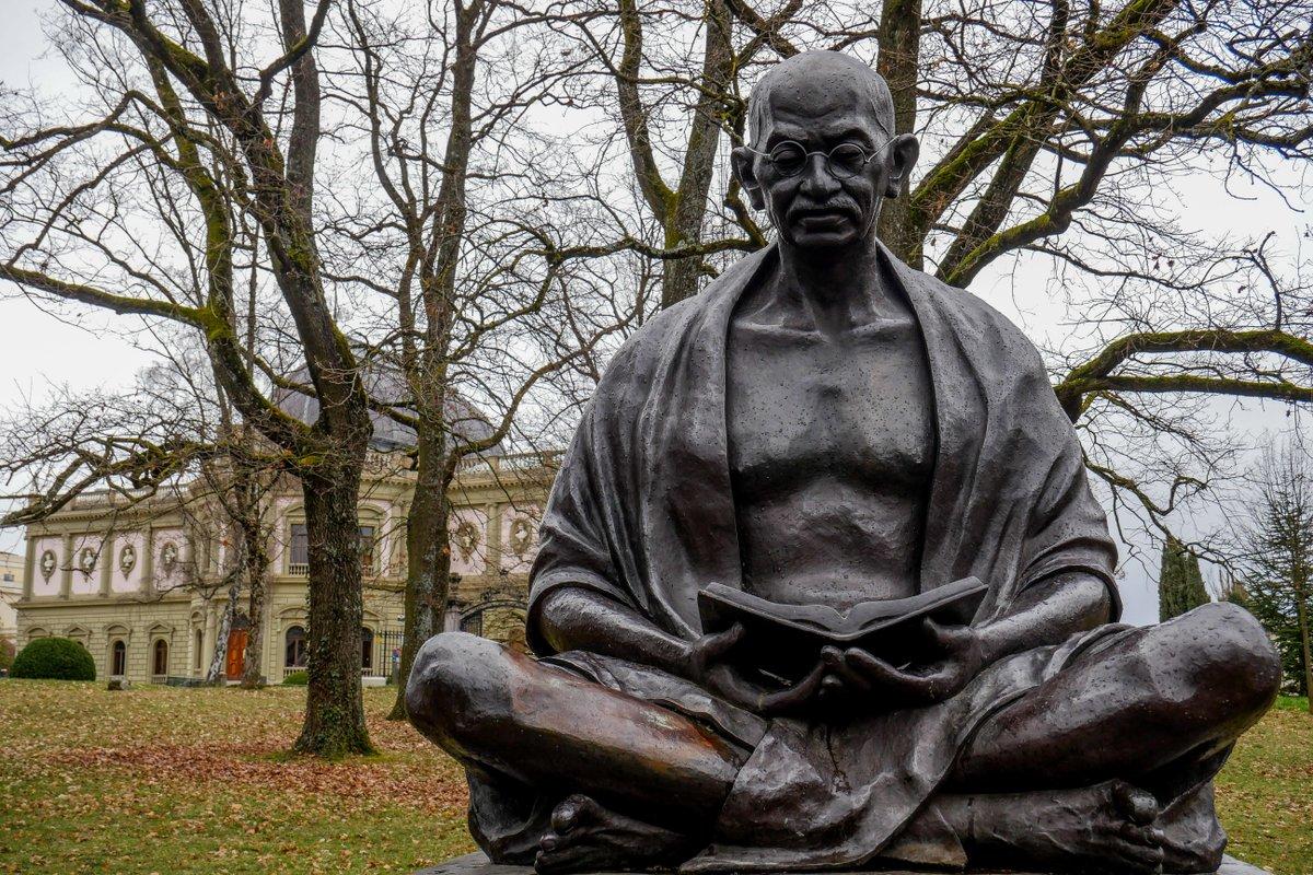 Mahatma Gandis: pergalę galima pasiekti be smurto