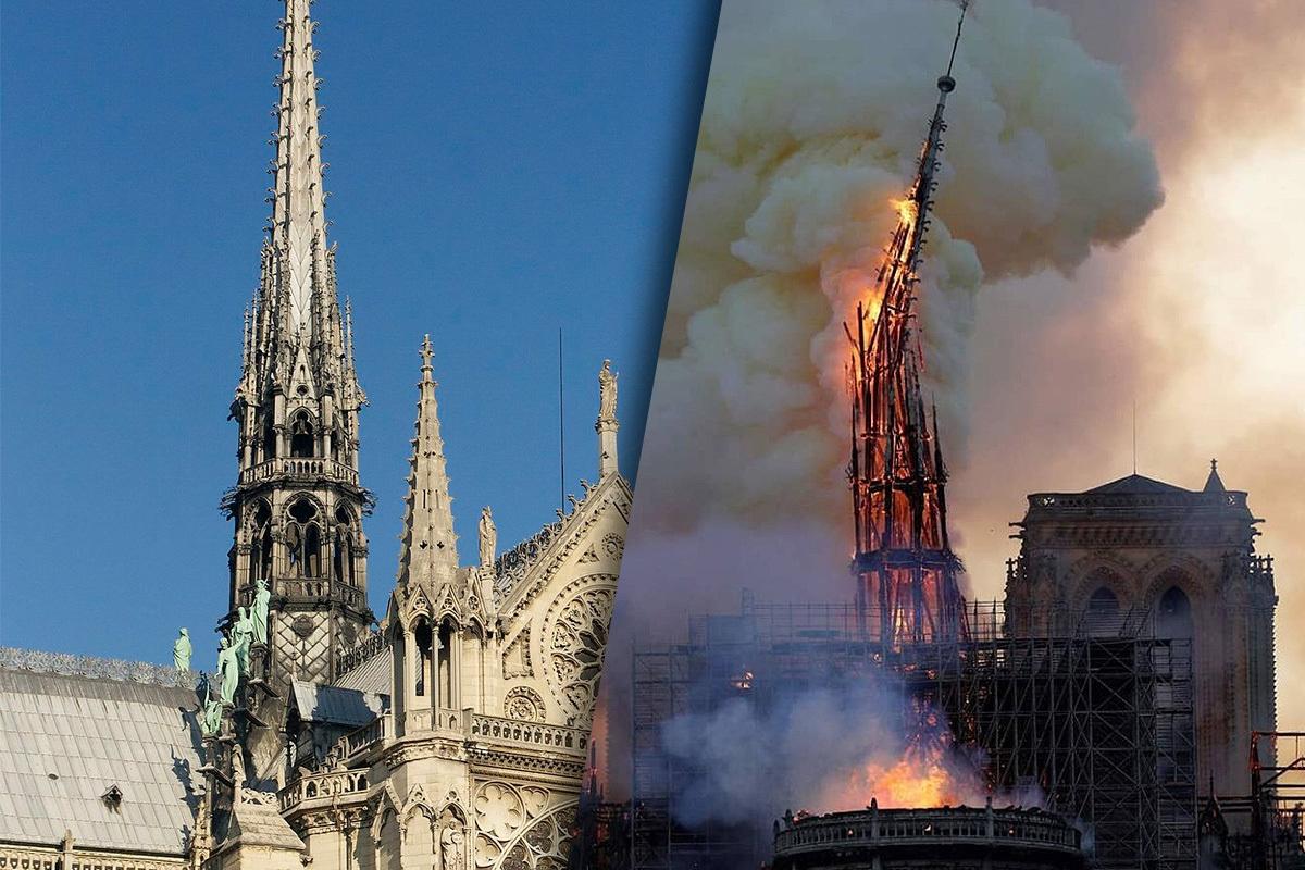 Paryžiaus katedros gaisras atgims televizijos dramoje