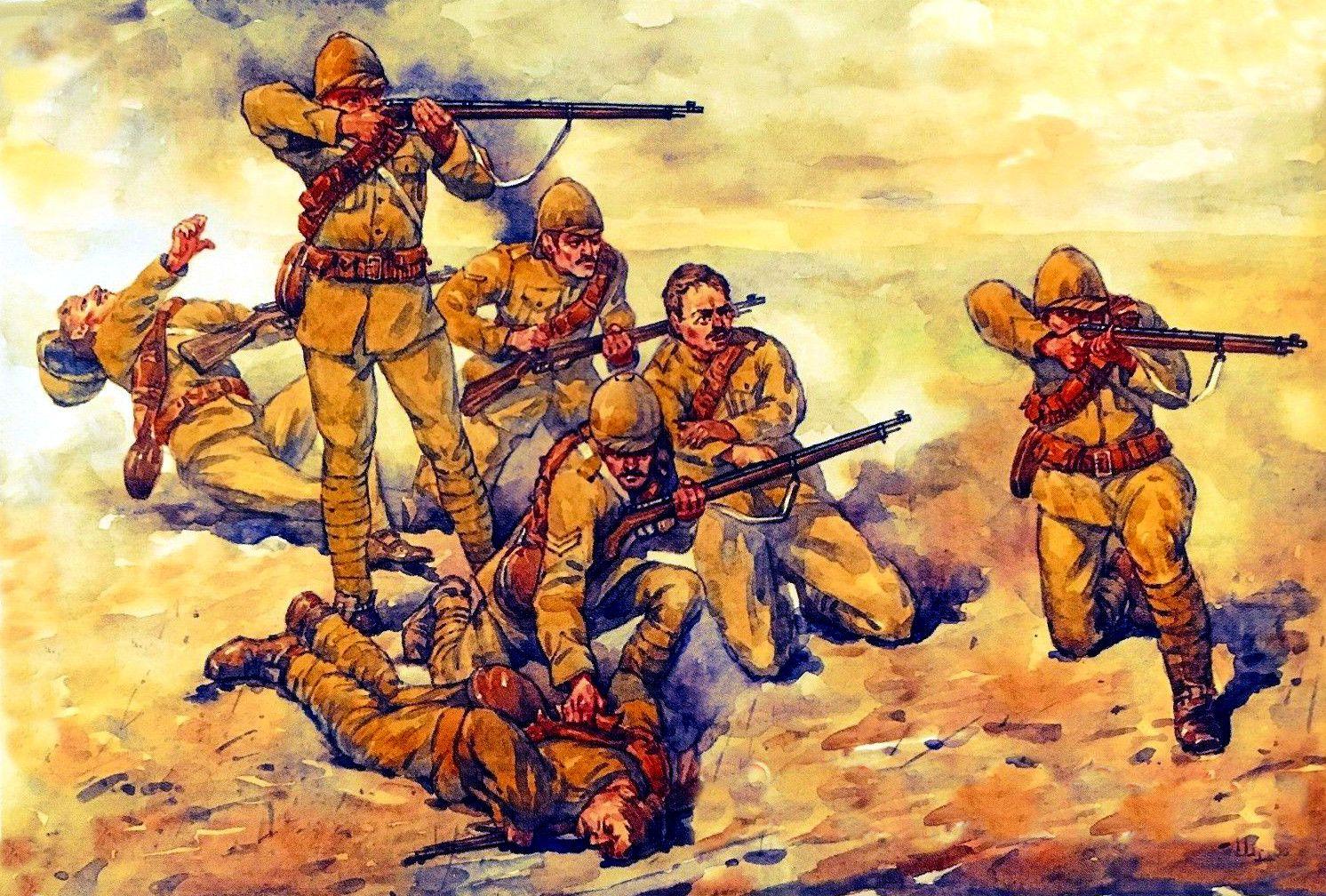 Karas, vykęs ant XX amžiaus slenksčio