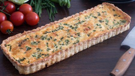 Prancūziška klasika: pyragas su sūriu ir šonine (video)