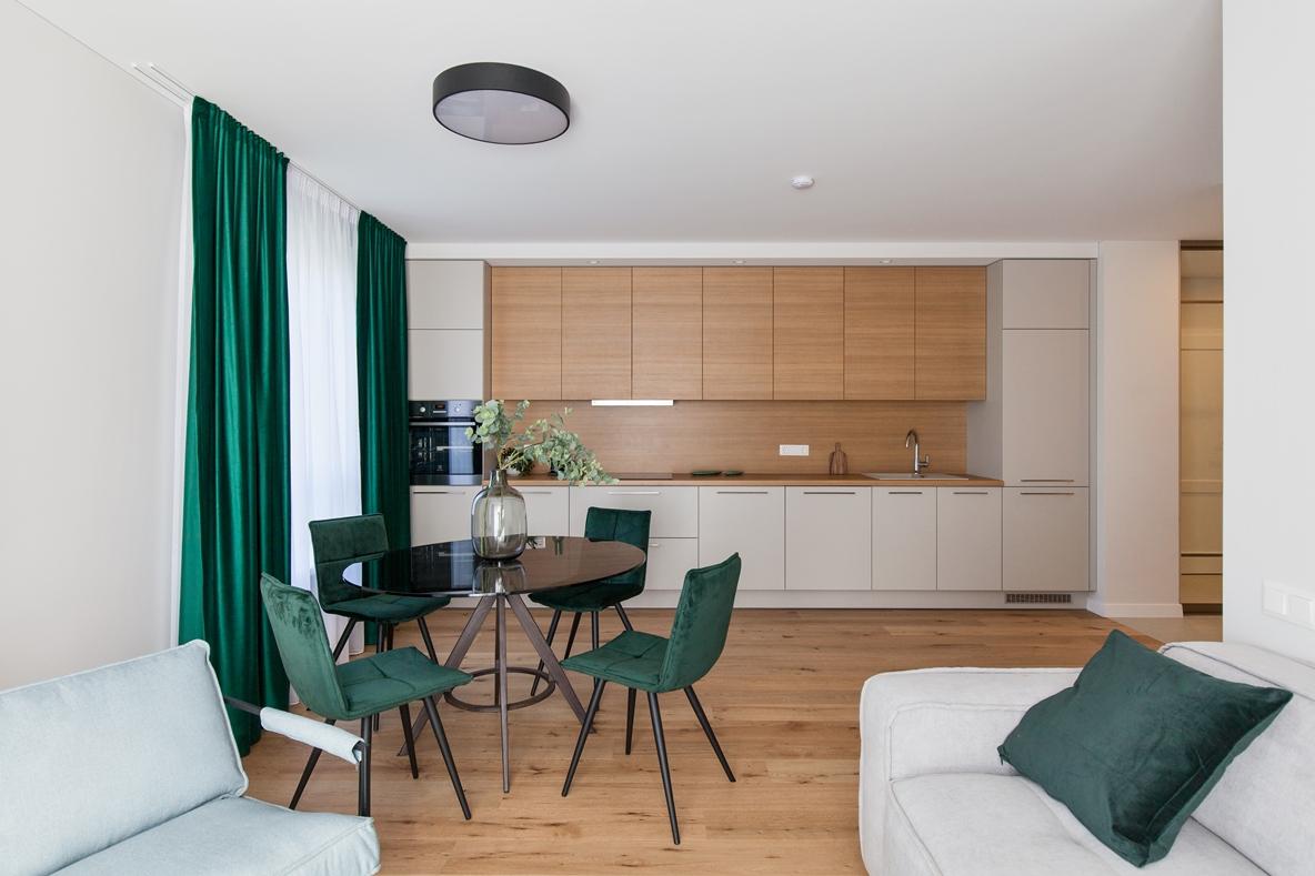 Plikų sienų populiarumą keičia pirkėjų noras įsikelti į jau įrengtą butą