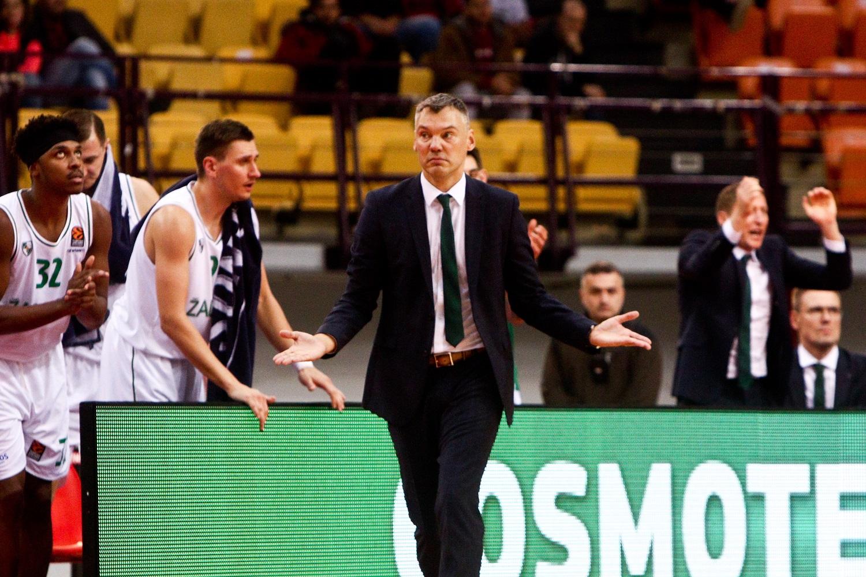 """Š. Jasikevičius: """"Negalime žaisti rungtynių iki 85 taškų"""""""