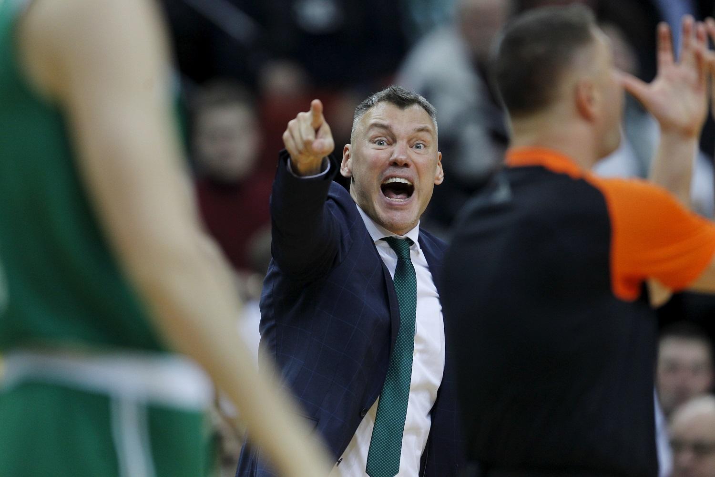 """Š. Jasikevičius niršta dėl dar vieno """"Žalgirio"""" pralaimėjimo: """"Nebegaliu teisinti žaidėjų"""""""