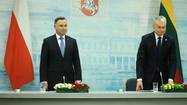 Lenkijos ir Lietuvos lyderiai: NATO išliko aktyvus ir ambicingas aljansas