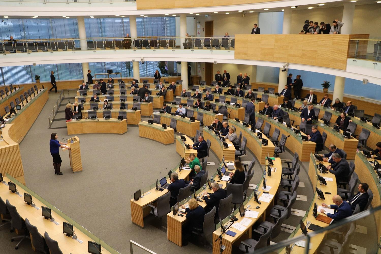 Seimas apsvarstė kitų metų biudžeto projektą