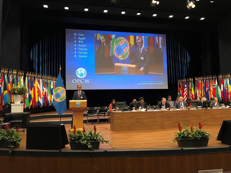 Lietuva pirmą kartą išrinkta į Cheminio ginklo uždraudimo organizacijos Vykdomąją tarybą
