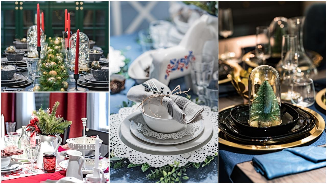 6 idėjos, kaip papuošti šventinį stalą, kad dėmesio jam pavydėtų net Kalėdų eglė