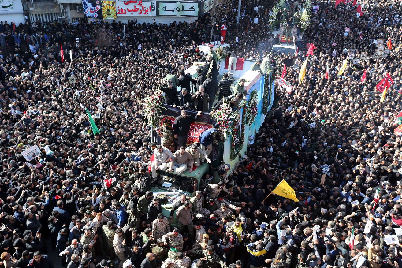52 proc. amerikiečių mano, kad po Q. Soleimanio nužudymo grėsmė šaliai padidėjo