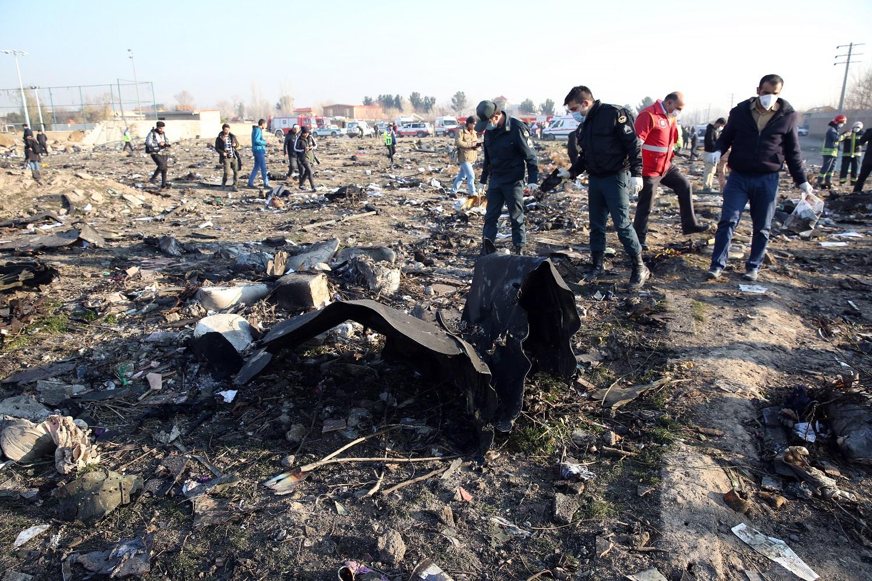 Irano tyrėjai patvirtino: Ukrainos lėktuvą numušė dvi raketos