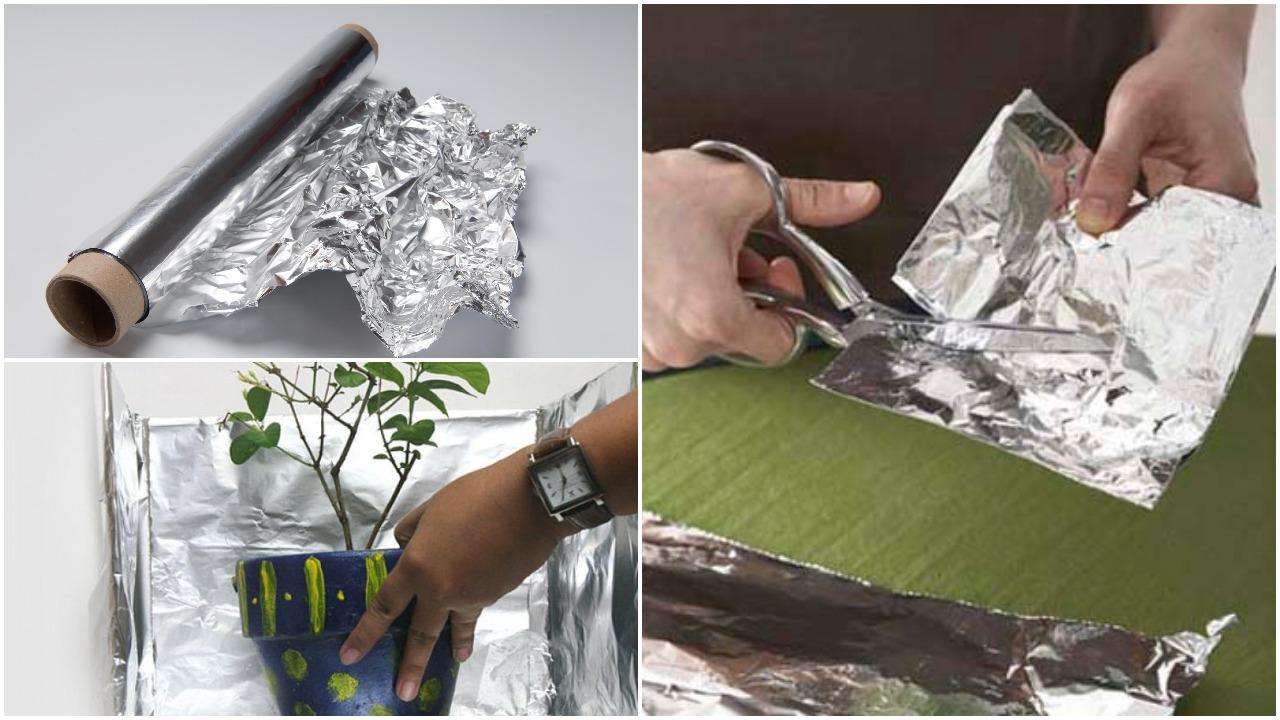 11 būdų, kaip galima panaudoti aliuminio foliją namų ūkyje