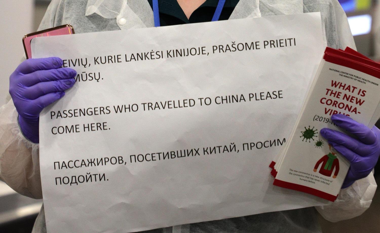 Koronavirusas Kinijoje: trečias lietuvis informavo esąs Uhane