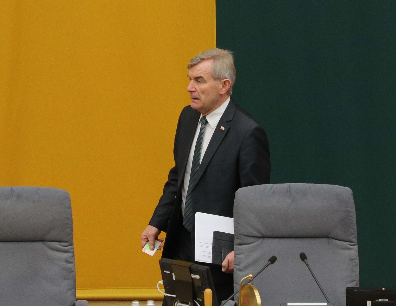 """Politinės intrigos: V. Pranckietis abejoja, ar S. Skverneliui naudinga vesti """"valstiečių"""" sąrašą"""