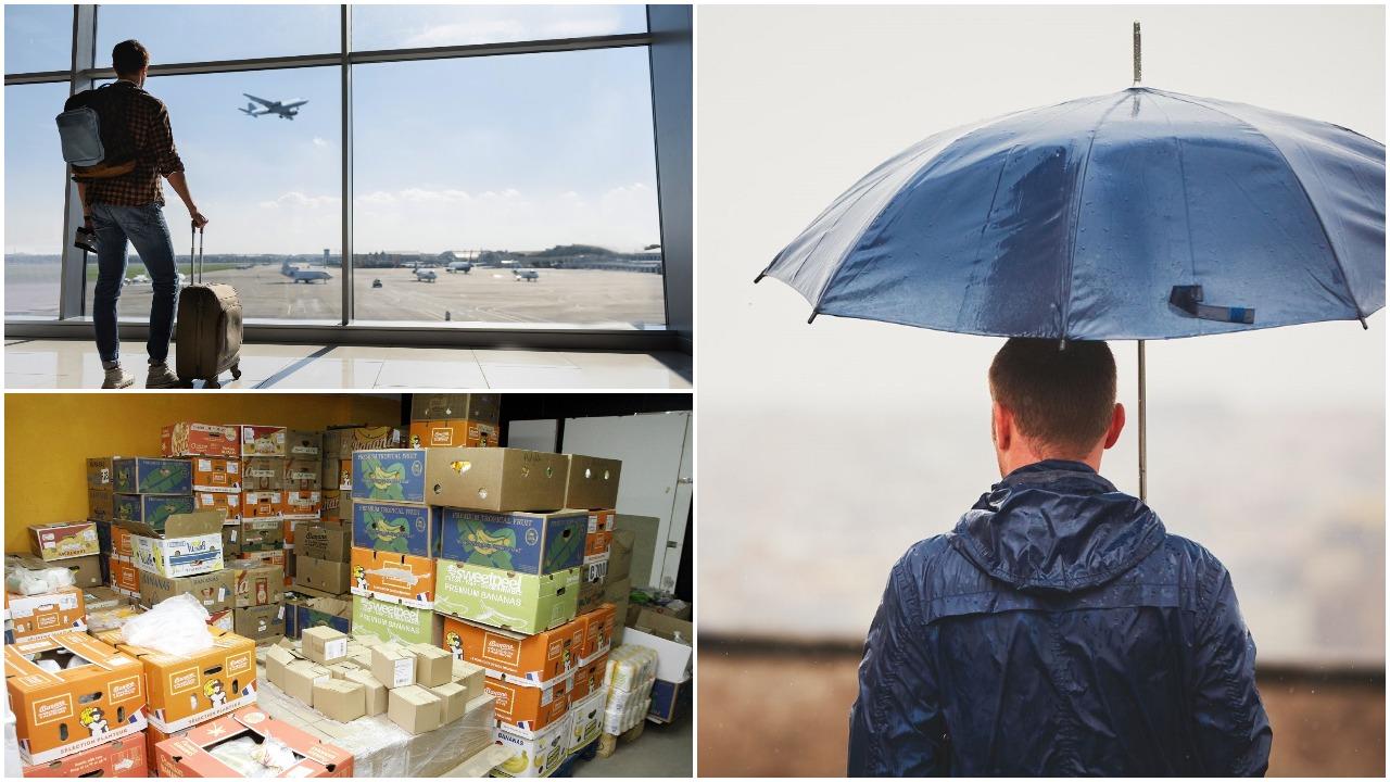 Šiandienos aktualijos: žiemos be sniego kaina, būtina pagalba maistu ir kas parvilios emigrantus atgal į Lietuvą?
