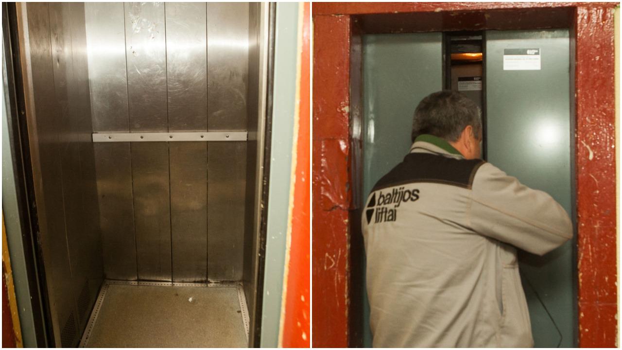 Stabdomi susidėvėję liftai: 420 liftų reikalauja remonto arba keitimo