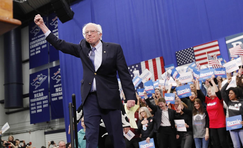 Aiškėja konkurentas D. Trumpui? Senatorius B. Sandersas laimėjo pirminius demokratų kandidato į JAV prezidentus rinkimus