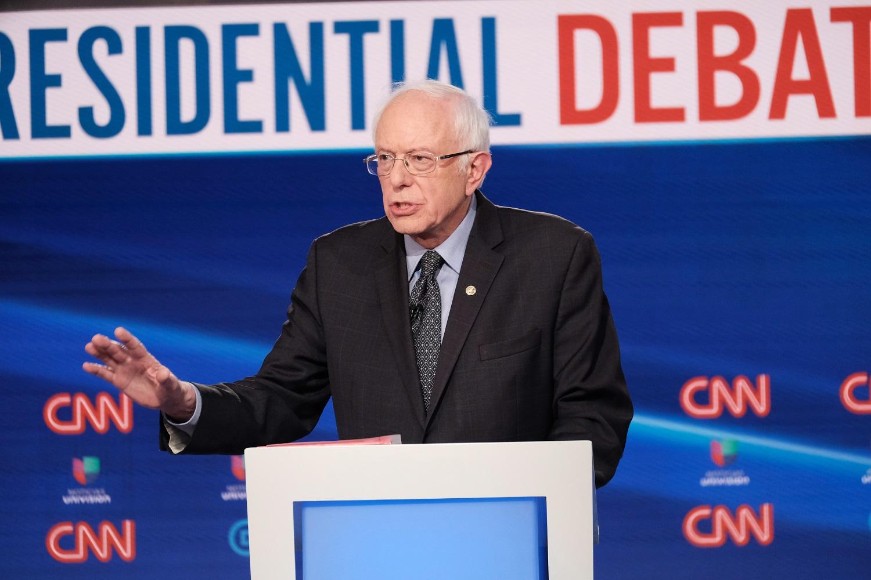 Po virtinės pralaimėjimų B. Sandersas spręs dėl savo kandidatūros į JAV prezidento postą