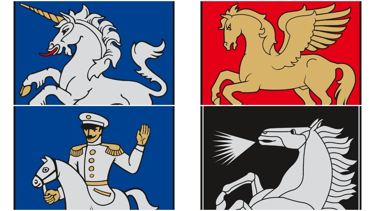 Žirgai ir raiteliai Lietuvos herbuose