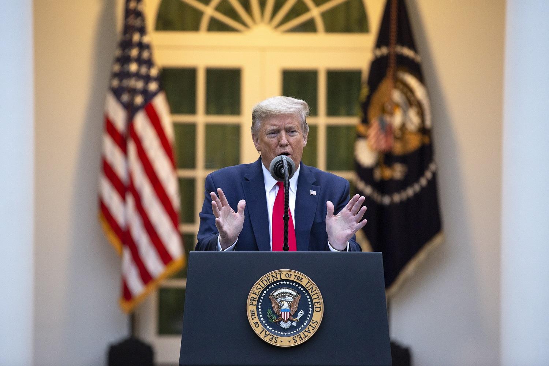 D. Trumpas sustabdė Pasaulio sveikatos organizacijos finansavimą