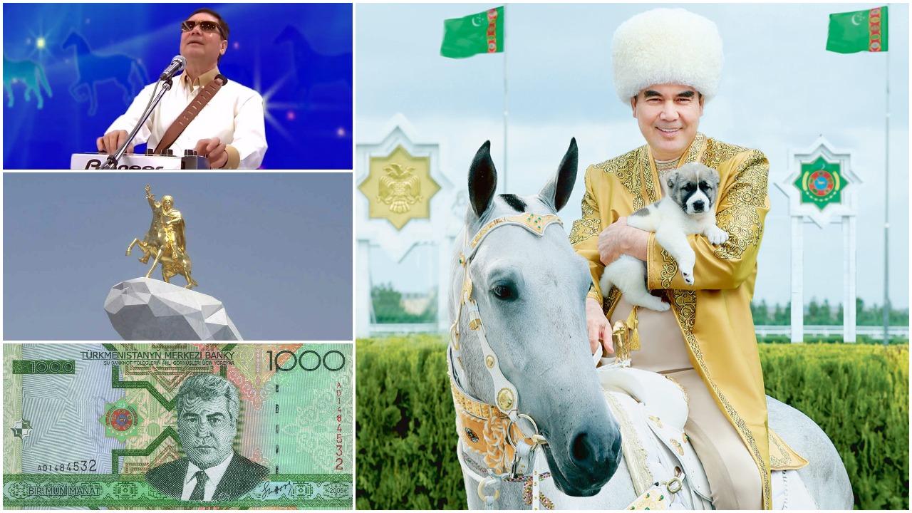 Turkmėnijos prezidentai: diktatorius mirė, tegyvuoja diktatorius!