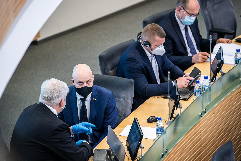 Ministras A. Veryga: tik solidarumas ir vieningumas padės efektyviai reaguoti į koronaviruso sukeltą krizę