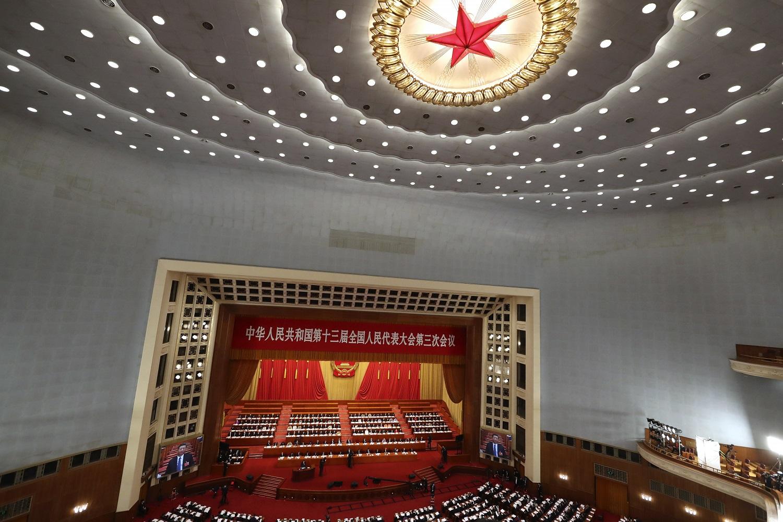 Kinijos premjeras pradėjo Liaudies Kongreso plenarinę sesiją