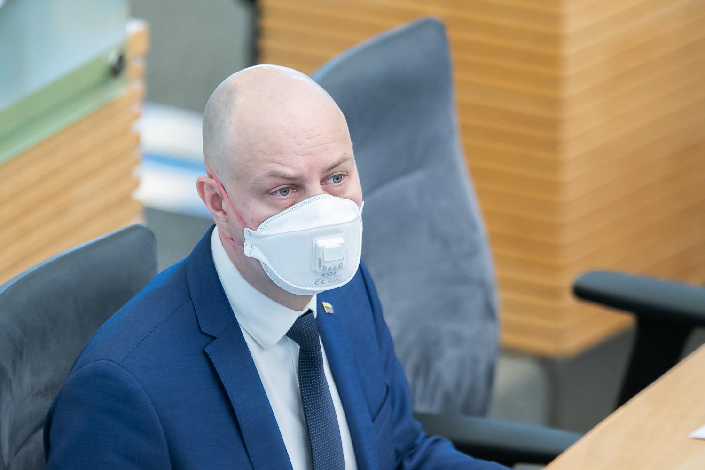 E. Gentvilas: Vyriausybė pratęsdama karantiną turi gauti Seimo pritarimą