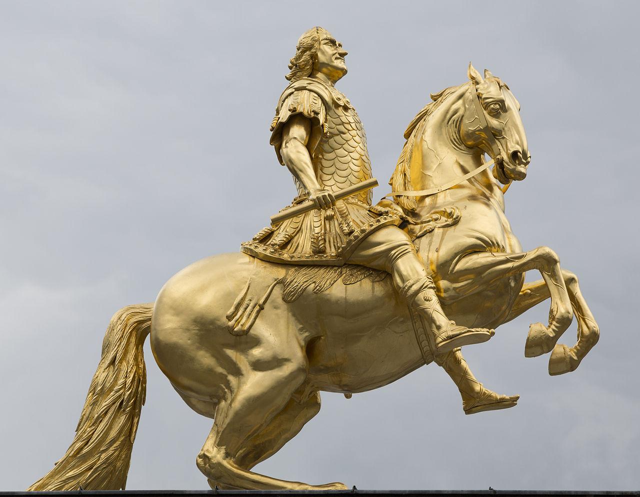Augustas II Stiprusis – valdovas, lankstęs pasagas ir turėjęs galybę vaikų