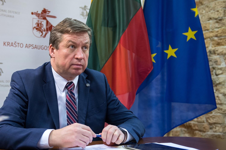"""Ministras R. Karoblis: """"NATO turi būti pasirengusi tinkamai atsakyti į saugumo grėsmes"""""""