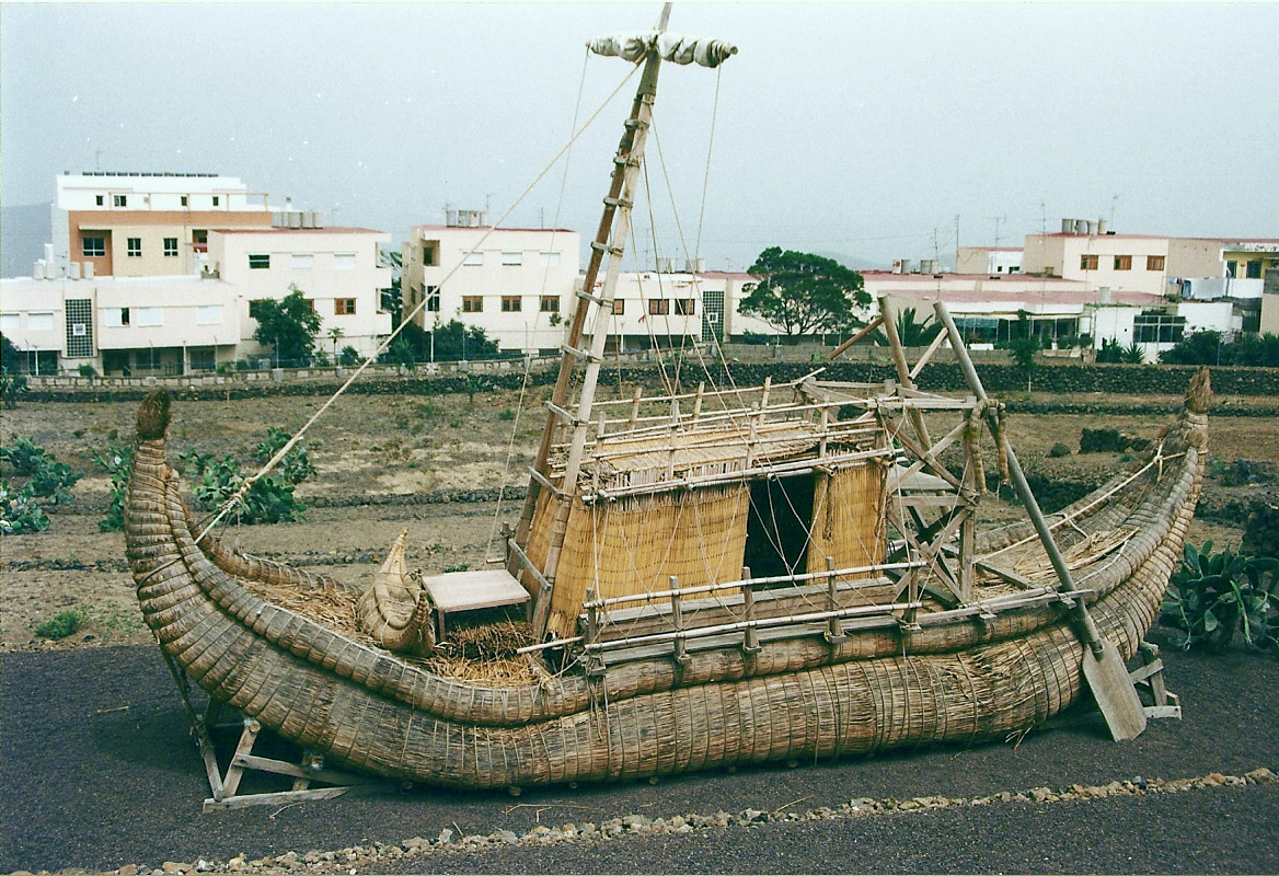 """""""Ra"""" ekspedicijos: papirusiniais laivais – per Atlantą"""