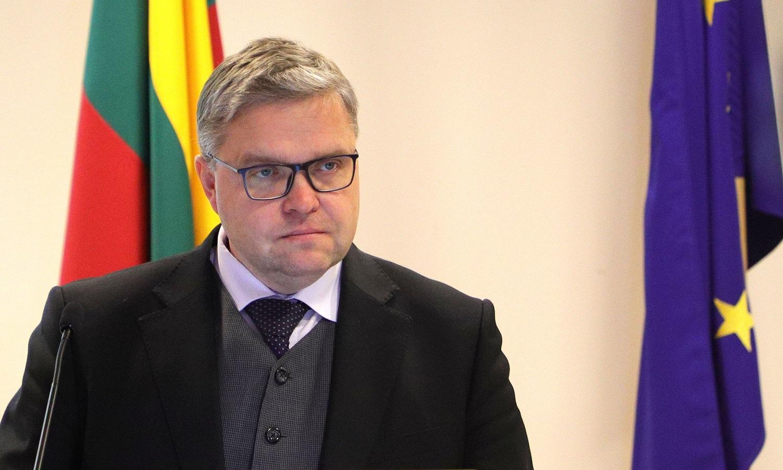 V. Vasiliauskas: per krizę palūkanų normos padidėjimo nematome