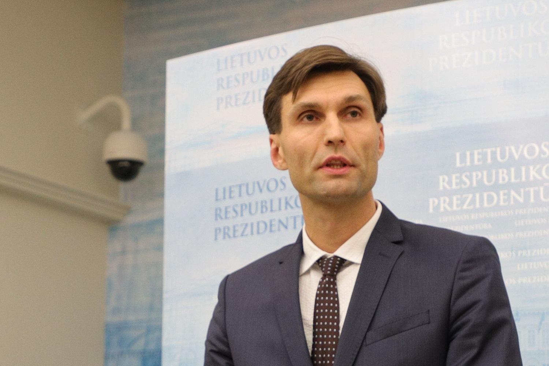 Prezidento patarėjas D. Kuliešius: A. Ribnikovą į teisėsaugos institucijas nukreipiau kaip pranešėją