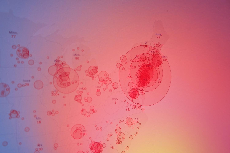Labiausiai koronaviruso paveiktų šalių sąraše – 50 valstybių