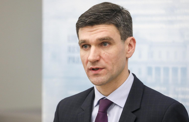 Naują ministrą įvertinęs S. Krėpšta: jis turi daug patirties, atsvarą Seime