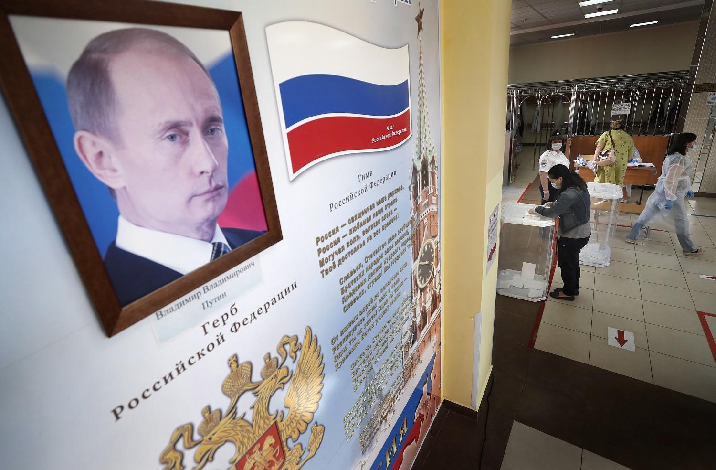 Rusijos gyventojai pritarė konstitucijos reformai