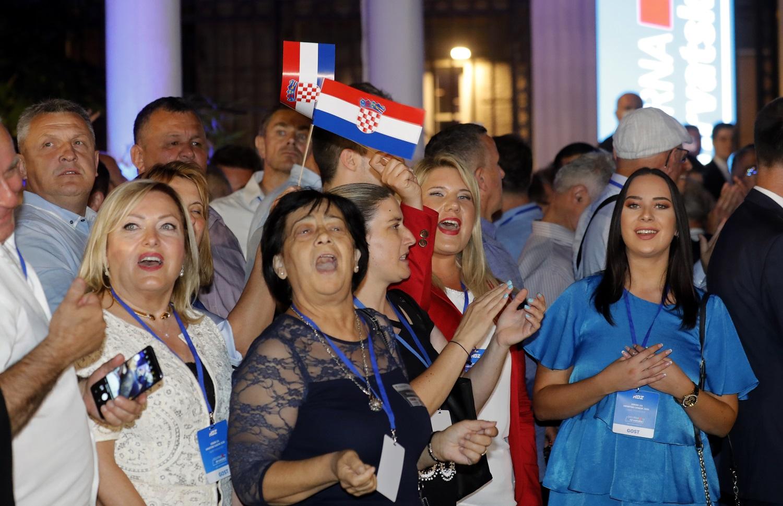 Kroatijos parlamento rinkimuose nugalėjo valdantieji konservatoriai