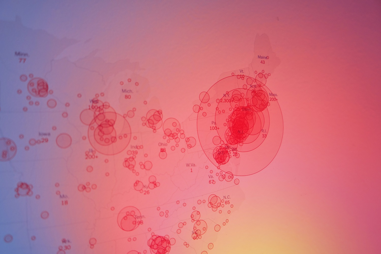 JAV patvirtinta dar beveik 60 tūkst. koronaviruso atvejų