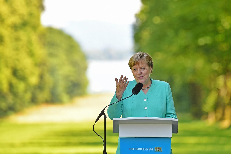 A. Merkel: ES gynyba iš JAV pusės nebėra savaime suprantamas dalykas