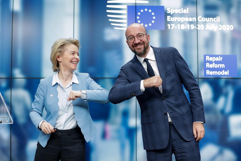 ES šalių lyderiai pasiekė susitarimą dėl ekonomikos gaivinimo paketo